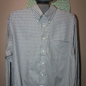 Men's M Jos. A. Bank Plaid Longsleeve Shirt